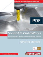 SolidCAM2007 R11 1 Getting Started