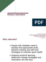 Dietary Education