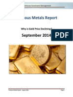 Lighthouse Precious Metals Report - 2014 - September