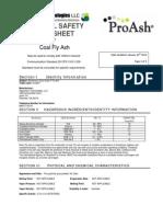 ProAsh MSDS Class F Ash Revised 2012