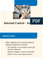 Internal Control Inventory