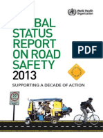 Global Status Report on Road Safety 2013 Summary