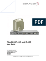 FibeAir IP-10G IP-10E User Guide Rev D.01