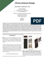 mobile antenna seminar report