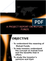 A Project Report on Mutual Funds