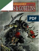 Warhammer Armées - V8 - Orques & Gobelins