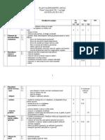 Plan Calendaristic Anual 1 efs