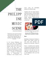 The Philippine Music Scene on