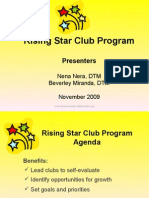 Educational Rising Star Club Program Ppp Nov 09