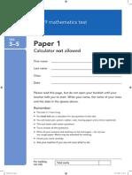Ks3 Maths Sat Paper 2010 35 Paper1