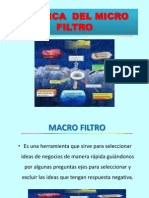 Semana 07 Micro Filtro y Foda Empresarial1