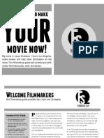Filmmaking Tools