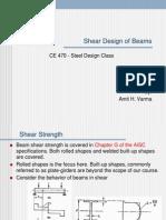 F13 CE470Ch5 Beam Shear Design