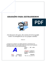 Diccionario Granaino Para Extranjeros