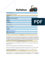 Syllabus Fundamentos de Economia