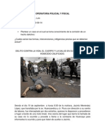 Operatoria Policial y Fiscal Luis