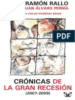 Cr�nicas de la Gran Recesi�n (2007-2009) de Juan Ram�n Rallo Juli�n r1.0