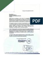 Carta SNTP a Diosdado Cabello. Derecho a La Información Pública