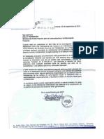 Carta SNTP a Delcy Rodriguez. Derecho a La Información Pública
