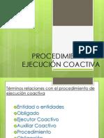 Procedimiento de Ejecución Coactiva