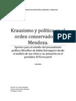 TESIS KRAUSISMO Y POL+ìTICA EN EL ORDEN CONSERVADOR (Autoguardado)