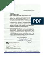 Carta SNTP a Rodolfo Marco Torres. Derecho a La Información Pública