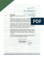 Carta SNTP a Nancy Perez. Derecho a La Información Pública