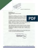 Carta SNTP a Nelson Merentes. Derecho a La Información Pública