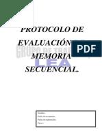 Pr Memoria Secuencial
