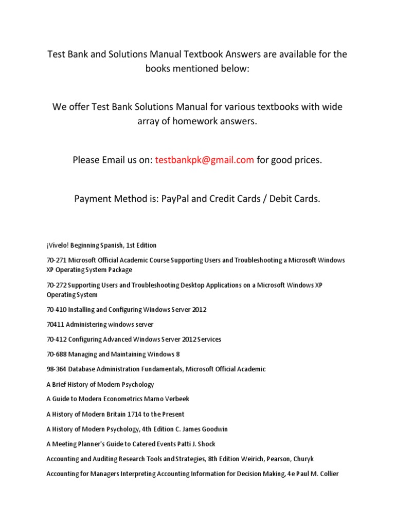 235597576 Solution Manual | Adobe Systems | Microsoft Office