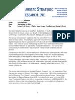 IA-Sen Harstad Research for DSCC (Sept. 2014)