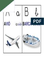 ABECEDARI DE PARET AMB IMATGES