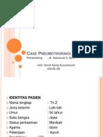 Case Pneumothoraks