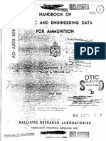 Ballistic Data for Ammunition Vol 2 1950