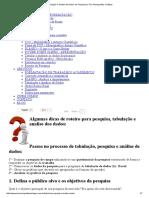 Tabulação e Análise de Dados de Pesquisas _ TCC Monografias e Artigos.pdf