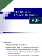 3. La Capa de Enlace de Datos