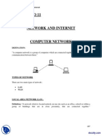 Network and Internet-Computer Fundamentals-Lecture Notes PDF