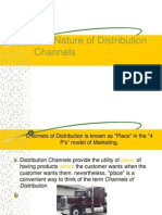 The Nature of Distribution Channels