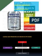 ALCOHOLISMO y La Conducción