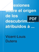 Dutens.L(1766) ReflexionesSobreElOrigenDeLosDescubrimientos....V3