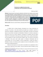 Democracia e Direitos Humanos (Rousseau) Www.cienciassociais.ufg.Br 0205_2011x