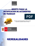 Ponencia- Notificacion de Accidentes de Trabajo