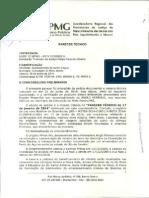Parecer Tecnico MP Agua Assoreamento (1) - MP-MG
