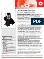 Quantitative Analysis 300813 e 158645