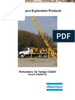 Manual Seguridad Sondeo Perforadora Testigo Cs3001 Atlas Copco