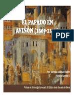 Unidad 8 Papado de Avignon - Vanessa Vásquez Balbin