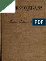 Book of Quatrain So 01 Marv