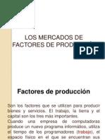 11. Los Mercados Factores de Produccion