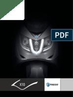 Piaggio X10 Brochure En
