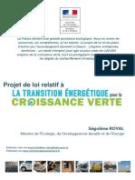 Projet de loi relatif à la transition énergétique pour la croissance verte